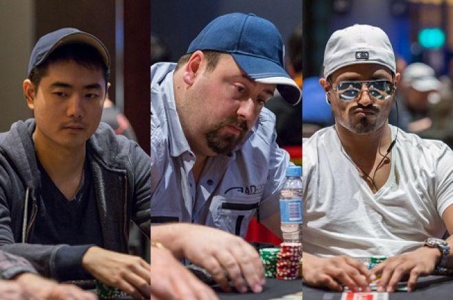 Andrew Chen, Sean Giesbrecht, Shyam Srinivasan APPT Aussie Millions Main Event