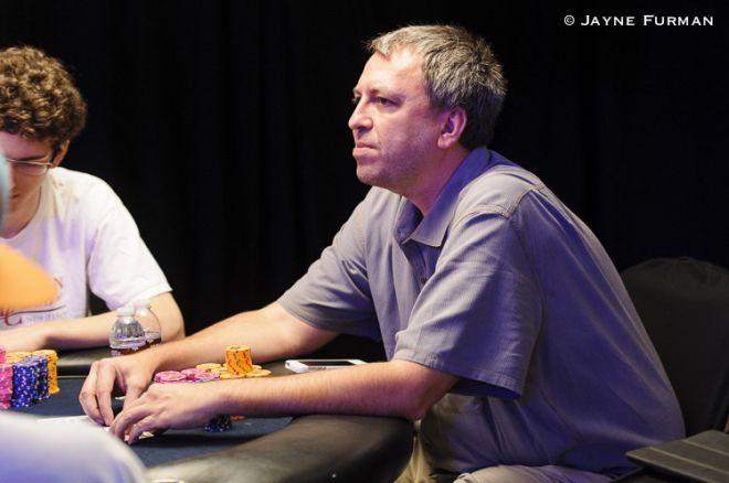 Jan Suchánek je třetí v průběžném pořadí Aussie Millions $10.600 Main eventu 0001