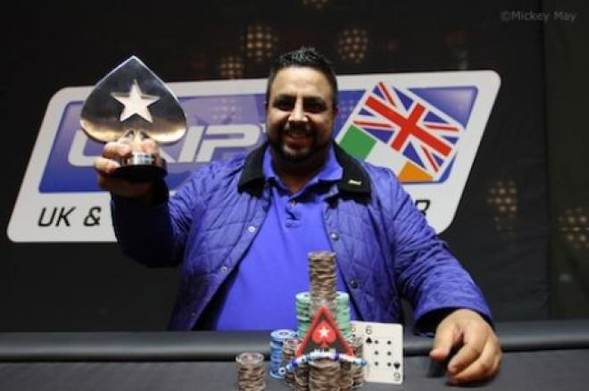 Rapinder Cheema Wins UKIPT5 London Main Event for £78,825 ($119,211) 0001
