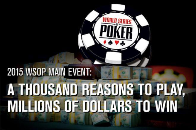 Nieuwe pay-out structuur voor WSOP: 1.000 spelers betaald, negen miljonairs, $15.000 mincash, geen $10 miljoen for first meer