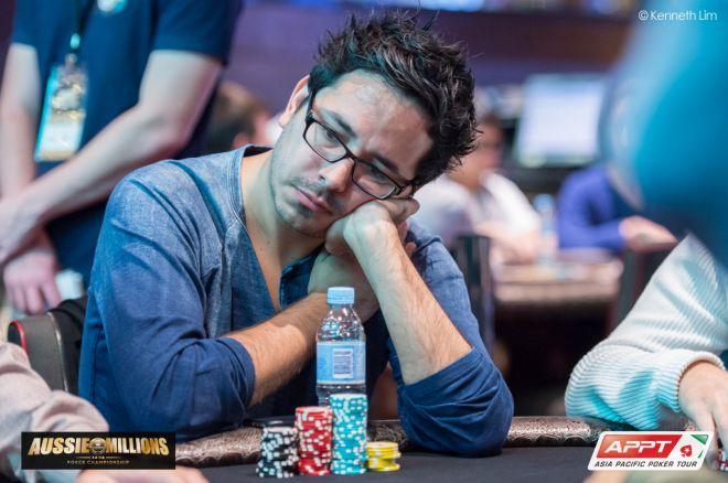 Angel Guillén y Nick Yunis jugarán el día tres del Aussie Millions 0001