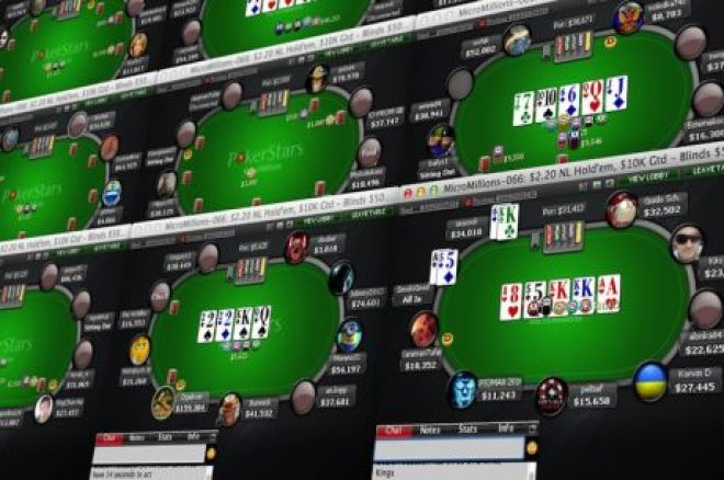 Navigating Through Large Online Poker Tournament Fields