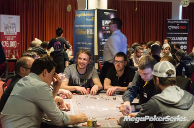 Andjelo Božić iz BiH Predvodi Polje na Danu 3 Mega Poker Series Vienna 2015 0001