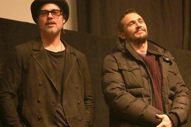 Brad Pitt e James Franco