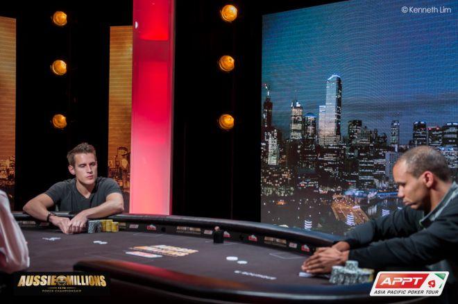 Mike McDonald Phil Ivey Aussie Millions $250,000 Challenge
