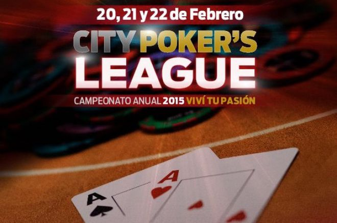 City Center Rosario presentó un nuevo circuito: City Center Poker League 0001