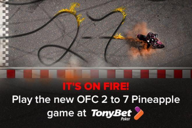 TonyBet Poker 2-7 OFC Poker