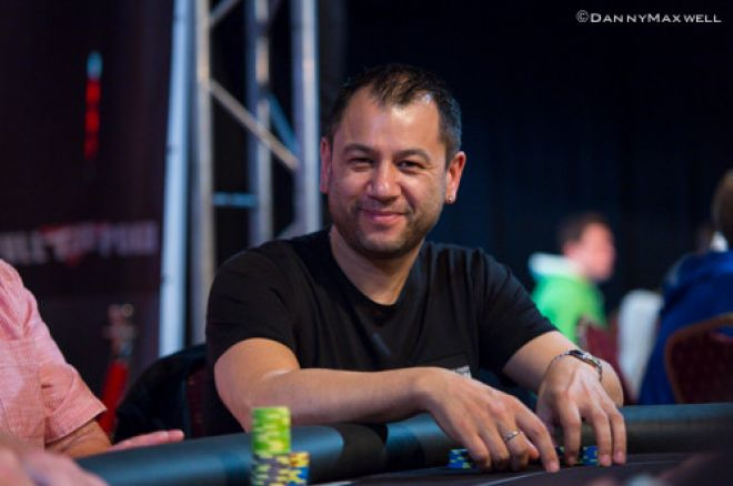 Rob Yong in action at the tables