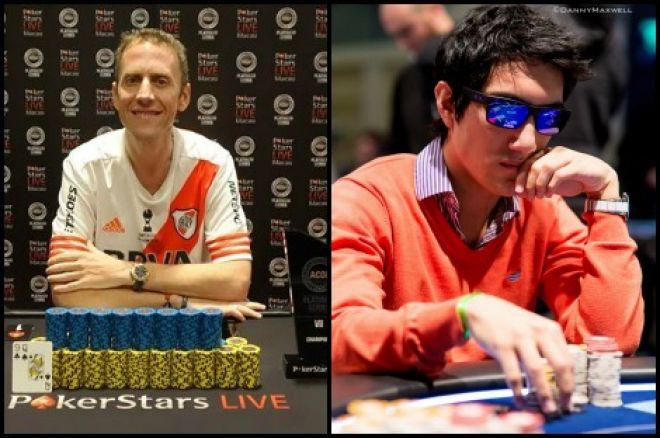 Argentinos por el mundo: Andres Korn campeón en Macao e Iván Luca 5º en el HR del EPT 0001