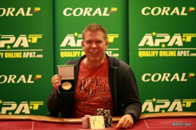 Mark Sanders: 2015 APAT European Championships Winner