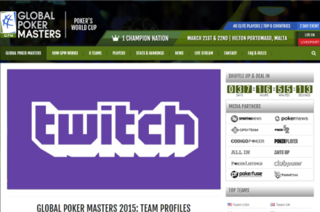 Global Poker Masters Live Twitch
