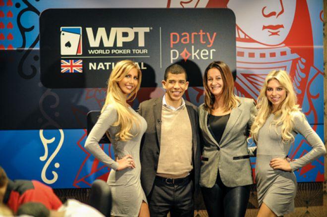 WPT President Adam Pliska, Hermance Blum and the partypoker girls