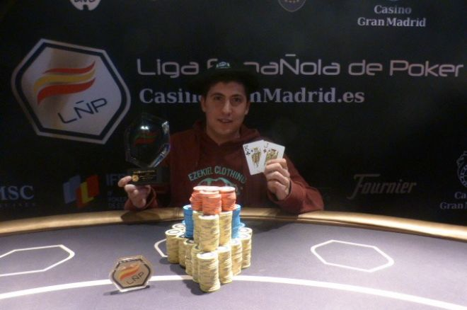 Asier Crespo gana la LÑP San Sebastián 0001