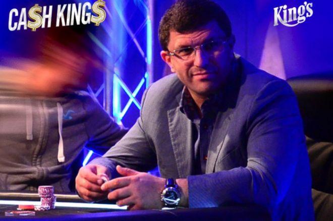 Dnes v 18:00 pokračuje CASH KINGS €100/€200 s Leonem 0001