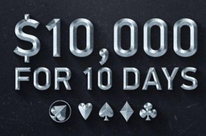 The Beast $10,000 турнир с вход $12 всеки ден до 27-ми в PKR 0001