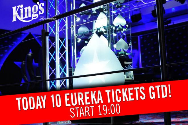 Dnes v King's kvalifikace €150+15 do Eureka Main Eventu o 10 lístků! 0001