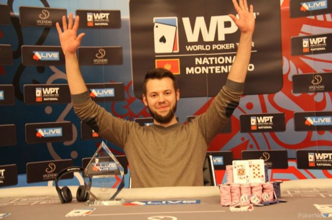 Ruslan Ilinskyi Šampion WPT National Montenegro Main Eventa 0001