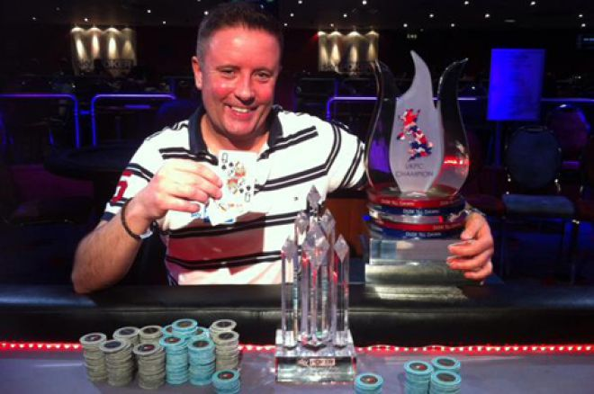 Fraser Bellamy: 2015 Sky Poker UK Poker Championships Main Event winner