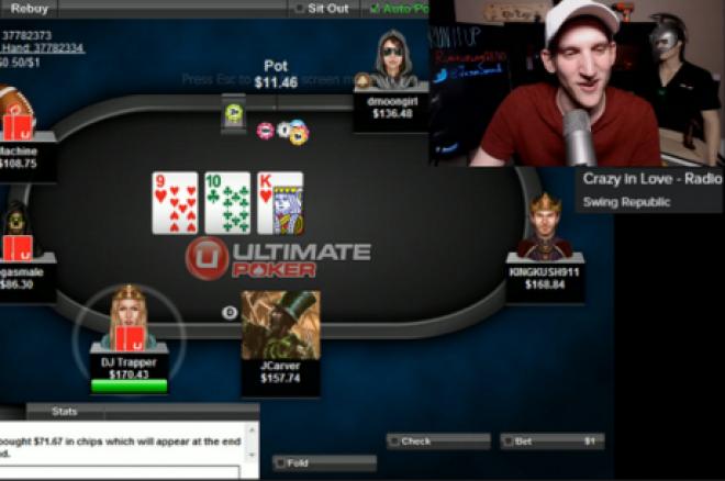 покерная трансляция на Twitch