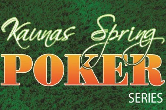 """Į Kauną sugrįžta """"Kaunas Spring Poker Series"""" 0001"""