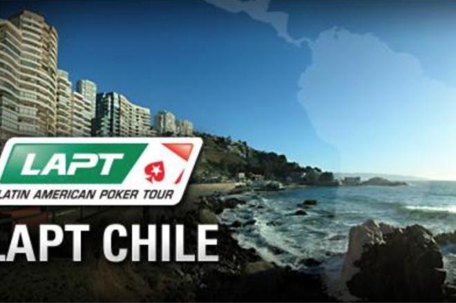 El día 1B en el LAPT Chile; Felipe Costa como chipleader 0001