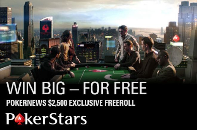 All You Need to Know About The Next $2.5K PokerNews-Exclusive Freeroll At PokerStars 0001