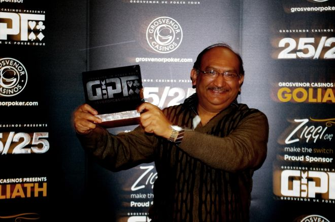 Ali Mallu:2015 Grosvenor UK Poker Tour Manchester Main Event champion