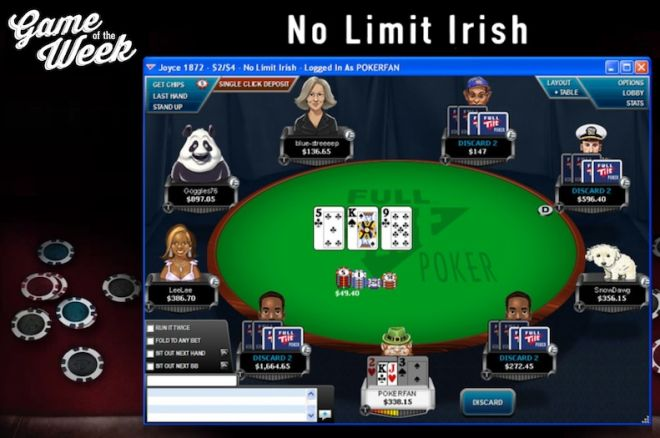 Game of the Week - No Limit Irish