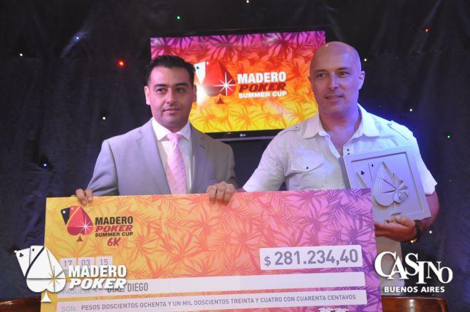 Diego Díaz fue el campeón de la última Summer Cup 6K del año 0001
