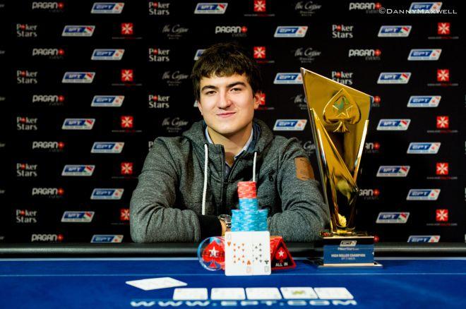 Dzmitry Urbanovich gana el €25.000 High Roller del EPT Malta 0001