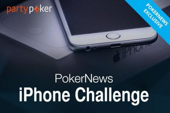 Last Chance to Win a Free iPhone 6 at partypoker in March! 0001