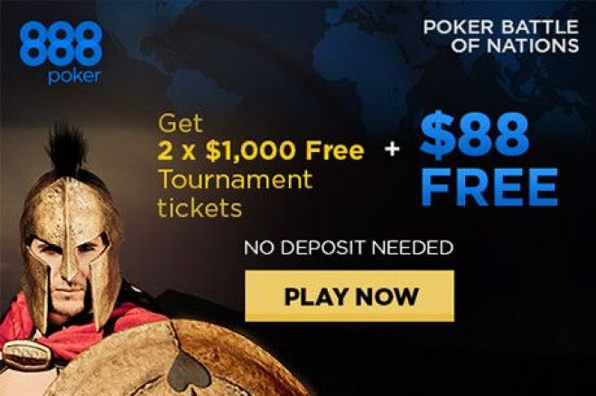 Win a Share of $800,000 and Show Your Country Pride at 888poker 0001