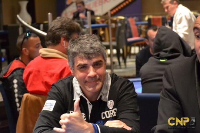 Carlos Gómez saco ventaja del re-entry para liderar en el Día 2 0001