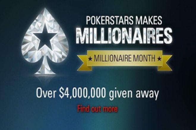 Per artimiausius du mėnesius PokerStars milijonieriais pavers mažiausiai 5 žaidėjus 0001