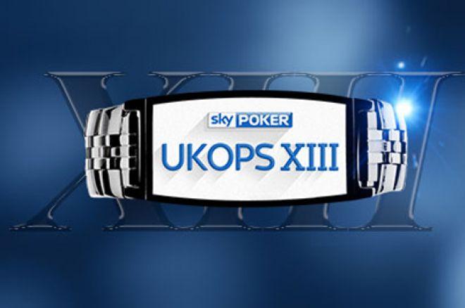 Sky Poker UKOPS XIII