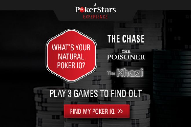 Test Your Poker IQ For Free with PokerStars' Natural Born Poker Player 0001
