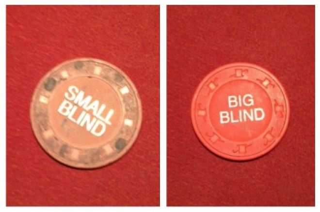 Small Blind and Big Blind buttons
