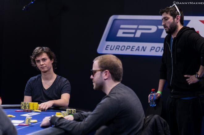 Dominik Panka (left), Michael Tureneic (foreground, center), Ramin Hajiyev (standing, right)