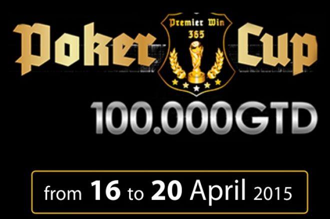 Premier Poker Cup 330€ sa 100.000€ GTD u Novoj Gorici od 16. do 20. Aprila 0001