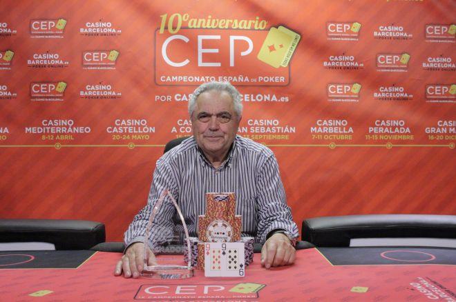Ángel Brotons da la sorpresa y se lleva el CEP Alicante 0001