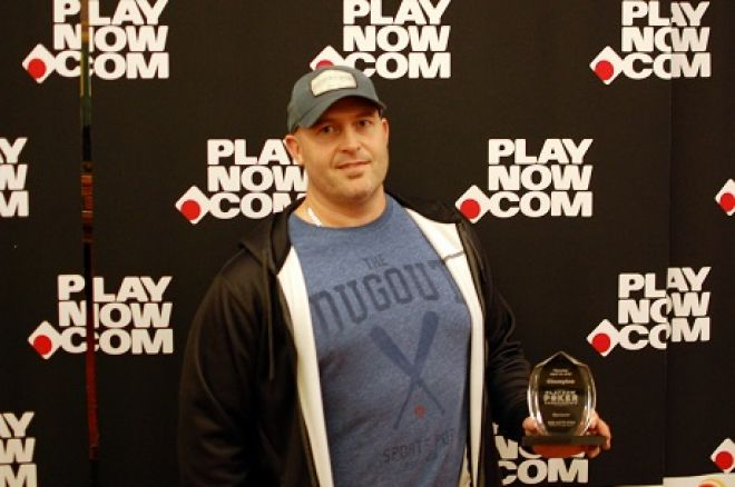 Jamie Constantine PlayNow Poker Championships