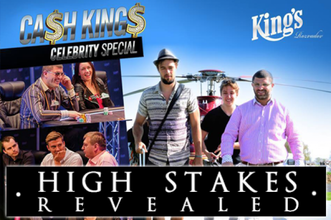 High Stakes Revealed - Cates verliest veel, Tsoukernik wint grof in Cash Kings Celebrity Special