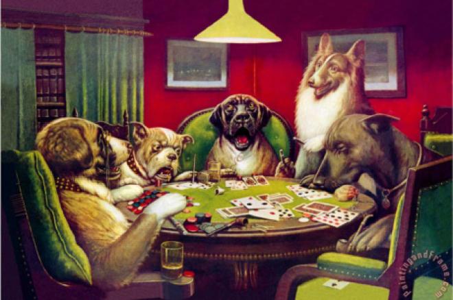 Poker split