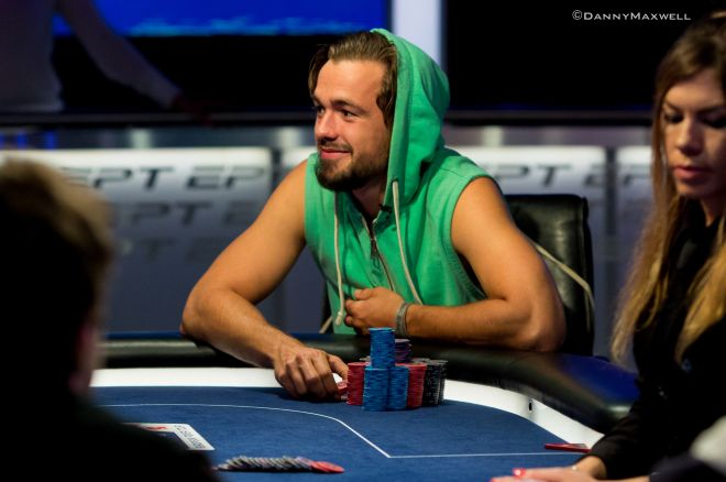 EPT Main Event Day 2 Chip Leader Ole Schemion