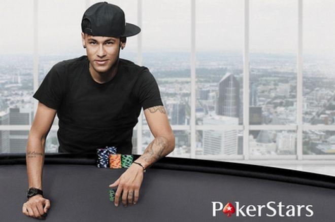 Neymar devient le nouvel ambassadeur de PokerStars 0001