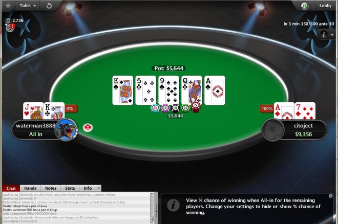 Българин спечели $1,000,000 в PokerStars