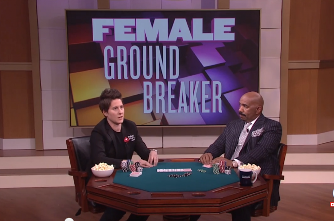 Vanessa Selbst on Steve Harvey Show