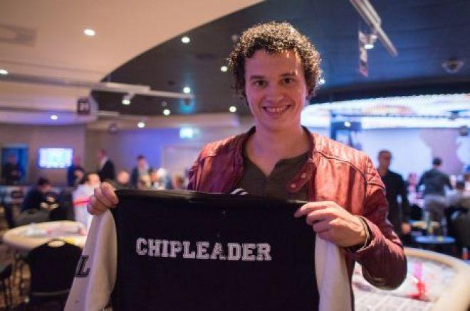 World Poker Tour Amsterdam - Main Event - Joep van den Bijgaart chipleader na Dag 2 0001
