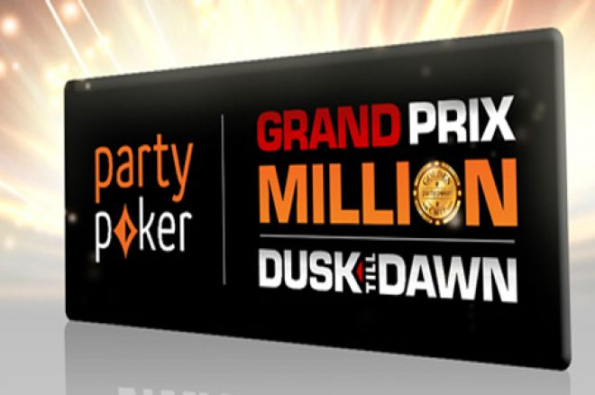 partypoker grand prix million facing potential massive overlay pokernews. Black Bedroom Furniture Sets. Home Design Ideas