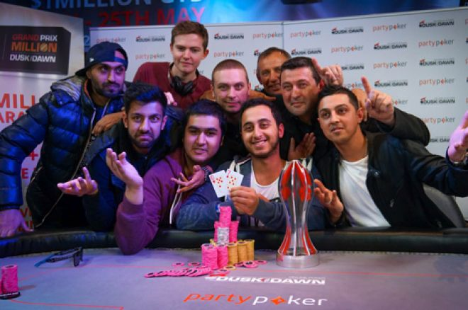Antonius Samuel the 2015 partypoker Grand Prix Million winner